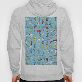 Dr. Seuss Characters Hoody