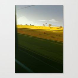 Trainblur4 Canvas Print