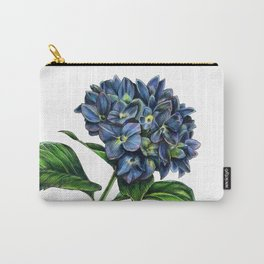 Realistic Hydrangea Drawing Carry-All Pouch