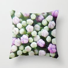 Buds of May Throw Pillow