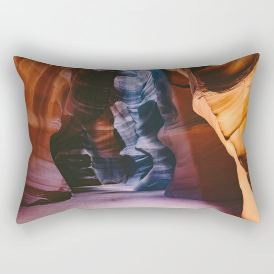 Slot Canyon Rectangular Pillow