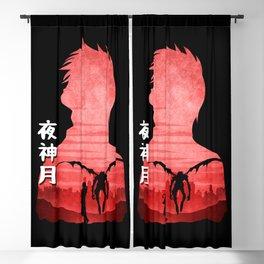 Minimalist Silhouette Light Blackout Curtain