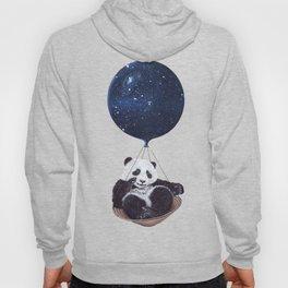 Panda in space Hoody