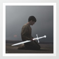 Weapon Art Print