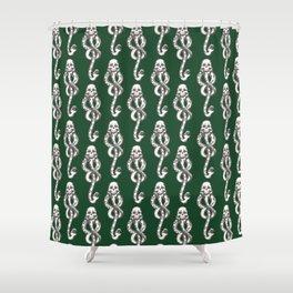 Dark Mark - Green Shower Curtain