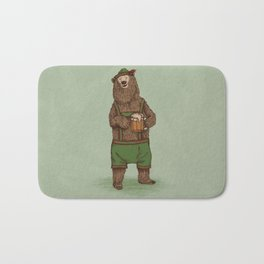 Traditional German Bear Bath Mat
