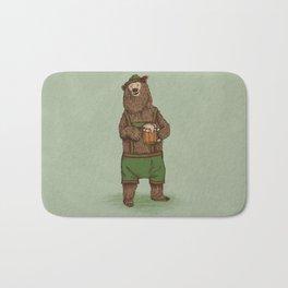 Traditional German Bear Bath Mat