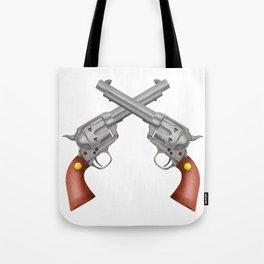 Pistols Tote Bag