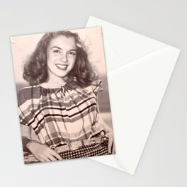 Norma Jean Baker Stationery Cards