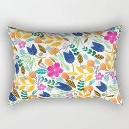 Flower Mayhem Rectangular Pillow