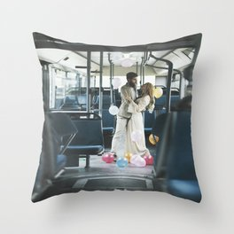 Love Travelers Throw Pillow