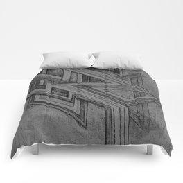 Emerge - Gray 1 Comforters