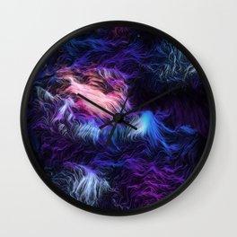 Lila Wall Clock