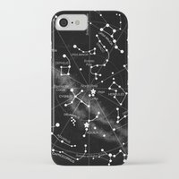 constellations iPhone & iPod Cases featuring Constellations  by Terry Fan
