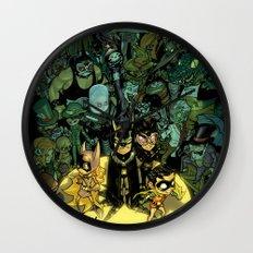 Lil' Bats Wall Clock