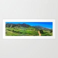 Mount Falcon Art Print