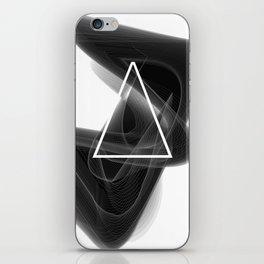 Dark Math. Triangle. iPhone Skin