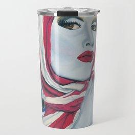 American Ladyboy Travel Mug