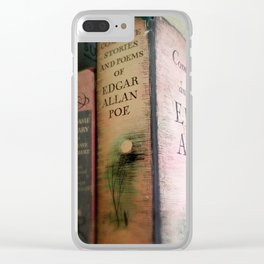 Pink Poe Clear iPhone Case