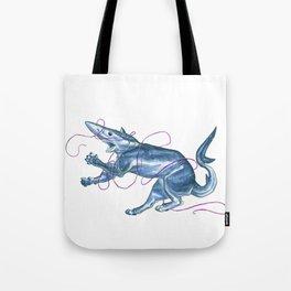 Blue Shark Cat :: Series 1 Tote Bag