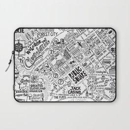 Cleveland Map Laptop Sleeve