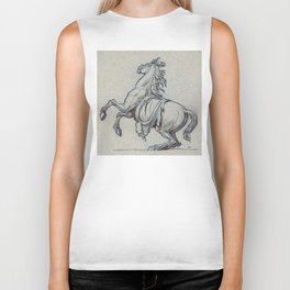 Horse, Marly court, Louvre Biker Tank