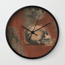 Printmaking 10 Wall Clock