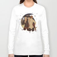 marauders Long Sleeve T-shirts featuring marauders moon by Kirsten Stackhouse