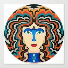 Blue Nose Canvas Print