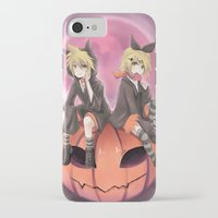 vocaloid iPhone & iPod Cases featuring vocaloid black cats by Sunny
