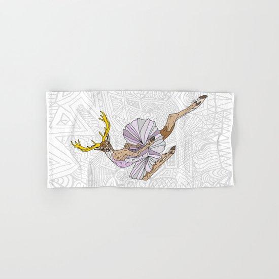 Reindeer Ballerina Tutu Hand & Bath Towel