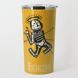 St. Sebastian - Patron Saint of Resistance Travel Mug