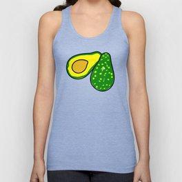 Avocado Fruit Unisex Tank Top