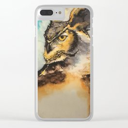 Wise in any dimension Clear iPhone Case