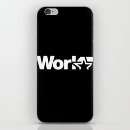 Work iPhone Skin