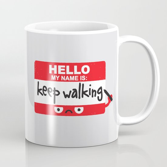 The Red Badge of Discourage Mug