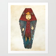 Fly like an egyptian Art Print