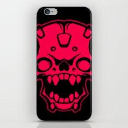 Screaming red iPhone Skin