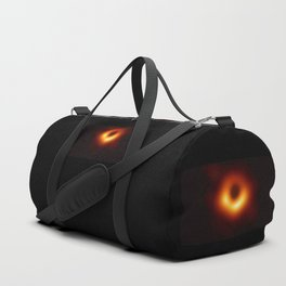 black hole : the first picture. Duffle Bag