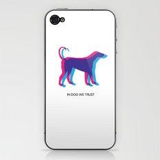 In Dog We Trust iPhone & iPod Skin