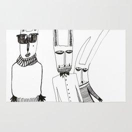 Fashion rabbit Rug
