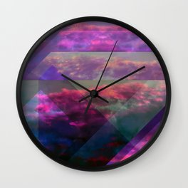 the realm of rose water oceans Wall Clock