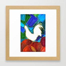 Dermanyssus gallinae Framed Art Print