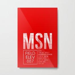 MSN Metal Print