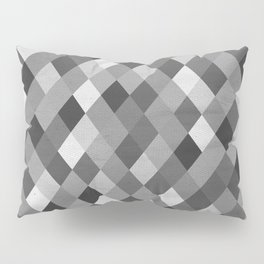Black and White Harlequin Pillow Sham