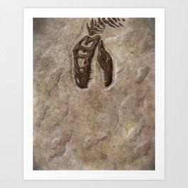 Rex Chomp Art Print