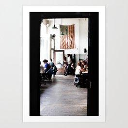 Oddfellows Cafe Art Print