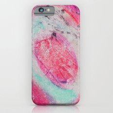 Abstract Green Pink iPhone 6s Slim Case