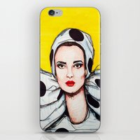 vogue iPhone & iPod Skins featuring vogue by Emily Tumen