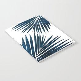 Indigo Palm Fronds Notebook